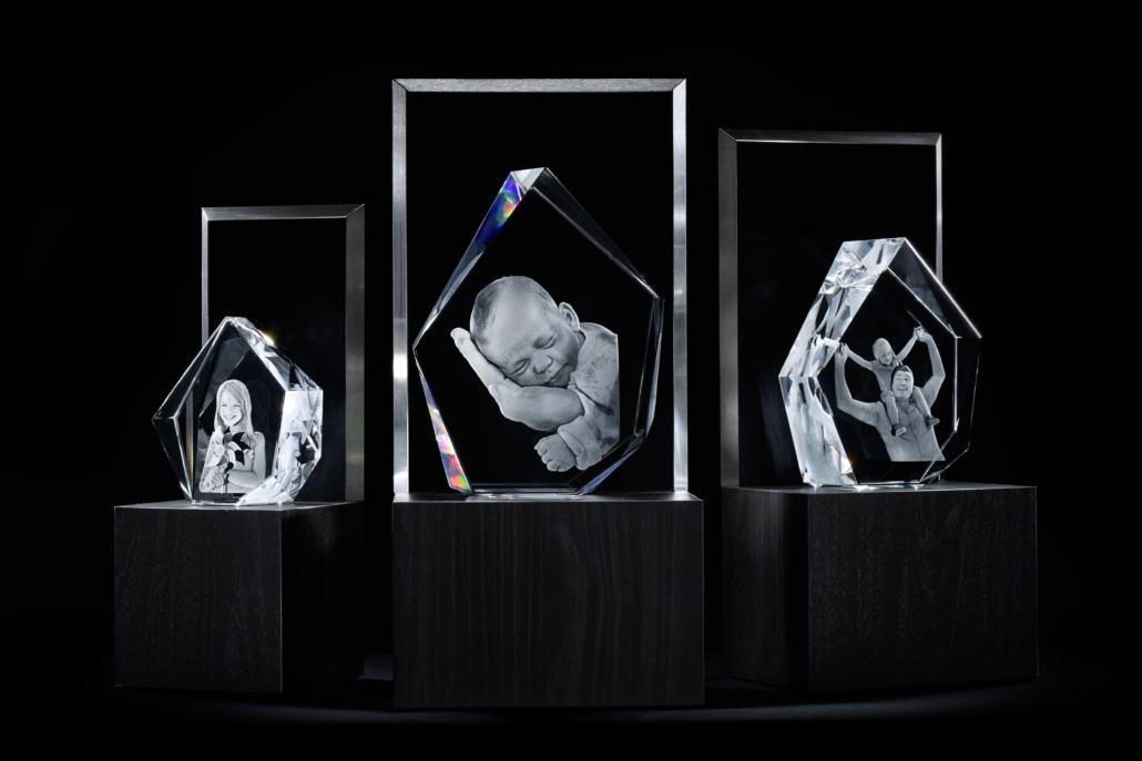 3D-Glasblöcke - Unser Foto-Highlight für Dein zu Hause